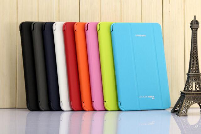 "Slim SAMSUNG Galaxy Tab4 10.1"" Case+Film Cover Auto Wake Sleep SM-T530/T535"