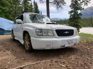 2001 Subaru forester sti jdm (manual)