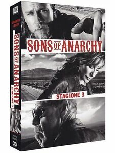 Sons-Of-Anarchy-Serie-Tv-3-Stagione-Cofanetto-Con-4-Dvd-Nuovo-Sigillato
