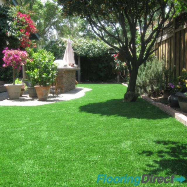 Astro Turf Garden >> Stratford 40mm Artificial Grass 8m X 4m Green Garden Realistic Lawn Astro Turf