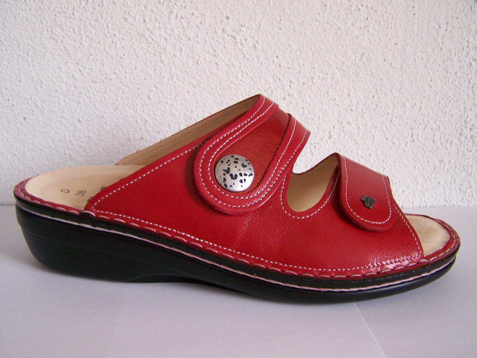 Finn Comfort mira S, rosso rosso rosso come Soft plantare come rosso Zanzibar incl   54cc35