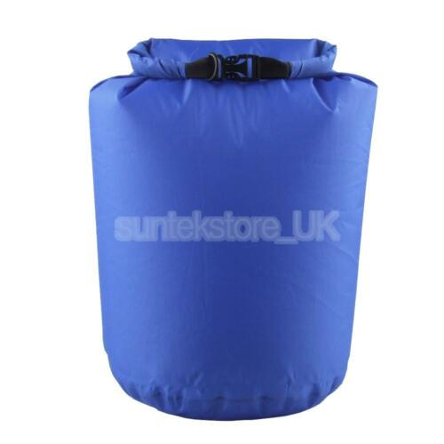 Water Resistant Waterproof Dry Bag Canoe Boating Kayaking Camping 6L Blue
