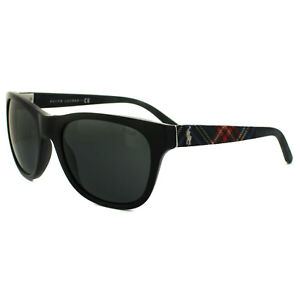e17d3e9f4d1 Polo Ralph Lauren Sunglasses 4091 549987 Black Dark Grey