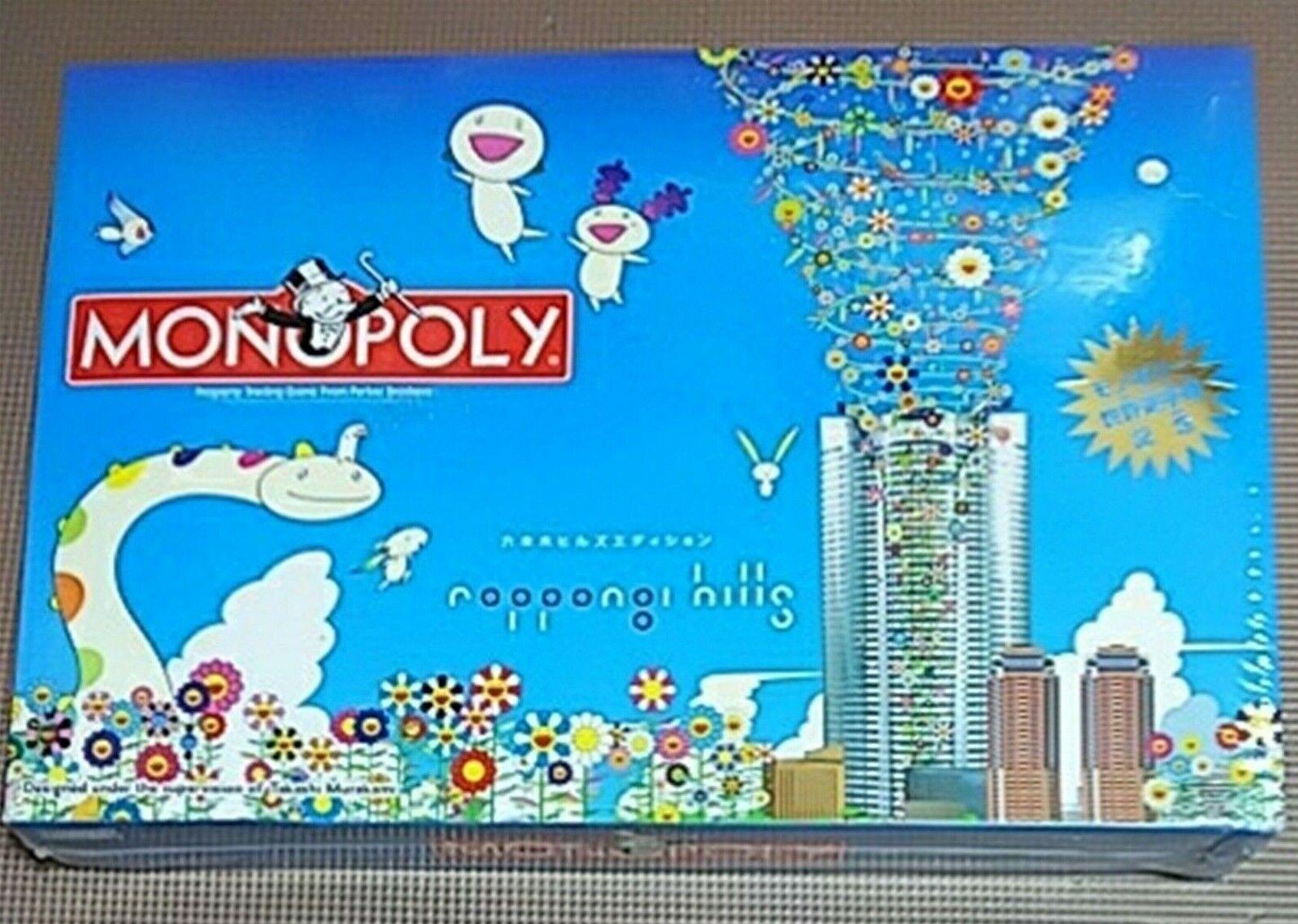 Monopolio Roppongi Hills edición Takashi Murakami Perker Brojohers sin abrir Raro