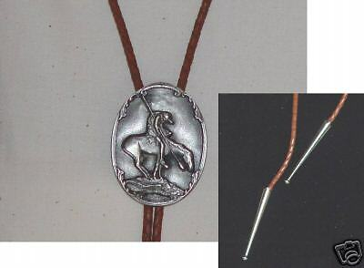 Bolo Bola Tie,End of the Trail,Mens Jewelry