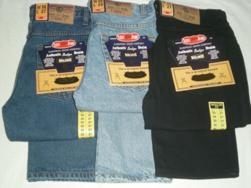 MENS KING SIZE BIG AZTEC TOUGH STRAIGHT REGULAR FIT JEANS W 52 to W 60 leg 29/&31