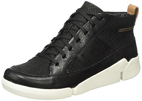 para Uk Tri 5 Bnib 5 Rrp Zapatillas Leather 75 Black Amber Hi mujer 39 Clarks £ Top Zapatillas PSqAwEO