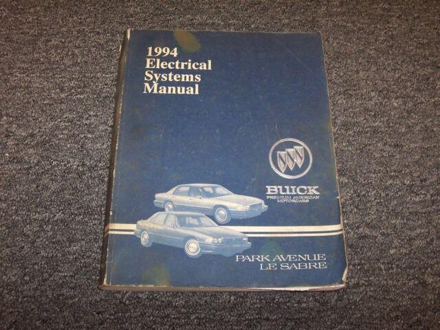 1994 Buick Park Avenue  U0026 Le Sabre Electrical Wiring