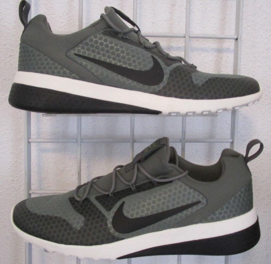 Men's Nike CK Dry Racer Sneakers, New Dark Dry CK Gray Black Sport Walking Shoes Sz 11 389d92