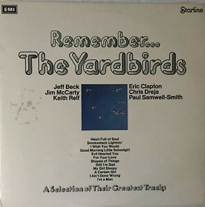 YARDBIRDS-Remember-Vinyl-LP