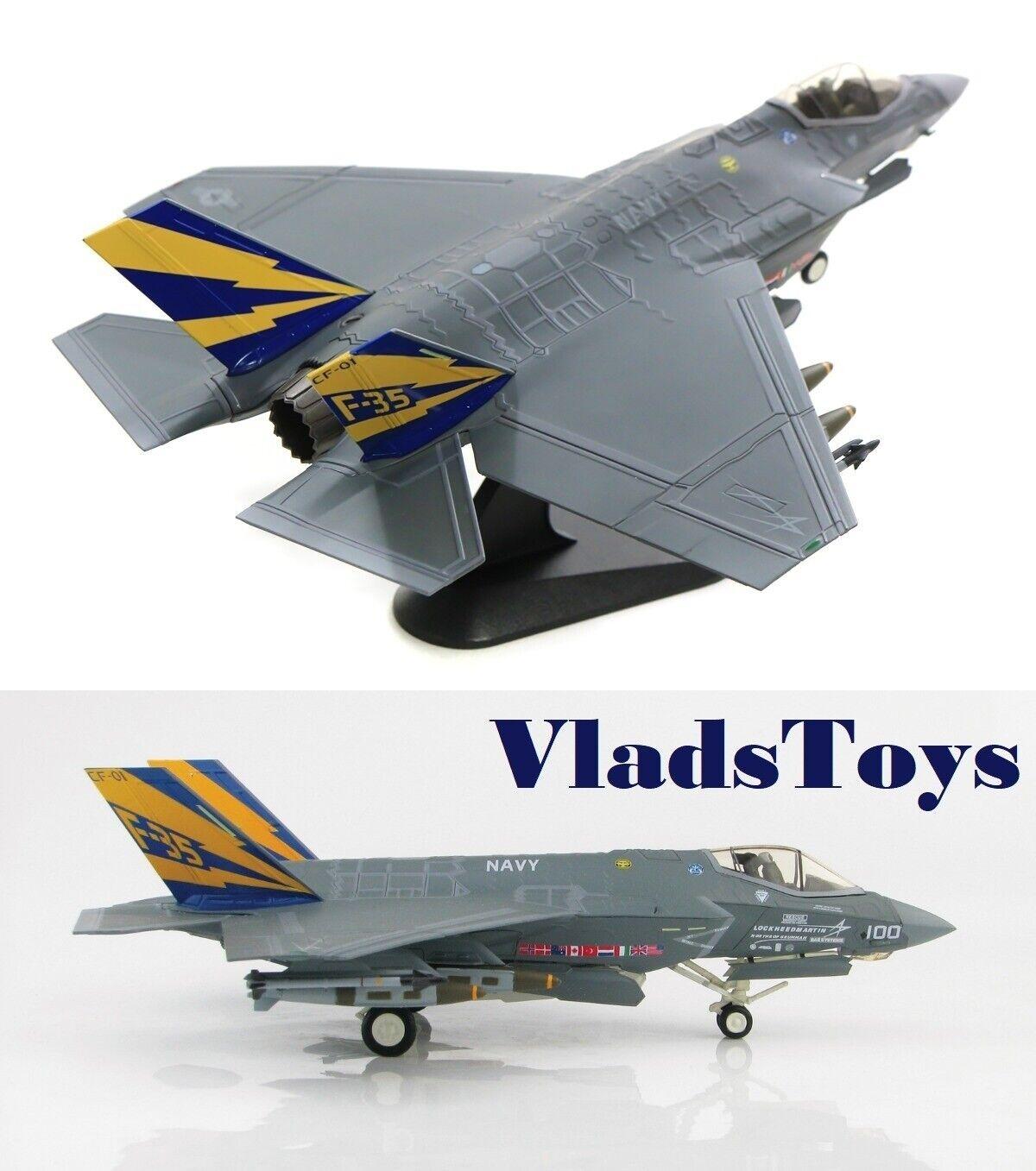 Hobby Master 1 72 F-35C Lightning II JSF VX-23 Salty Dogs CF-01 Patuxent HA6202