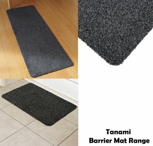 Tanami Barrier Runner /& Door Mat Set Indoor Home Kitchen Motorhome Caravan Grey