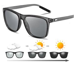 Brainart-Men-039-s-Photochromic-Sunglasses-with-Polarized-Lens-SQUARE-STYLE