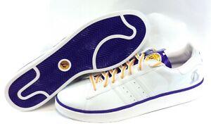 Mens Size 18 Adidas Campus II 044333 LA Lakers NBA 2007 Sneakers ...