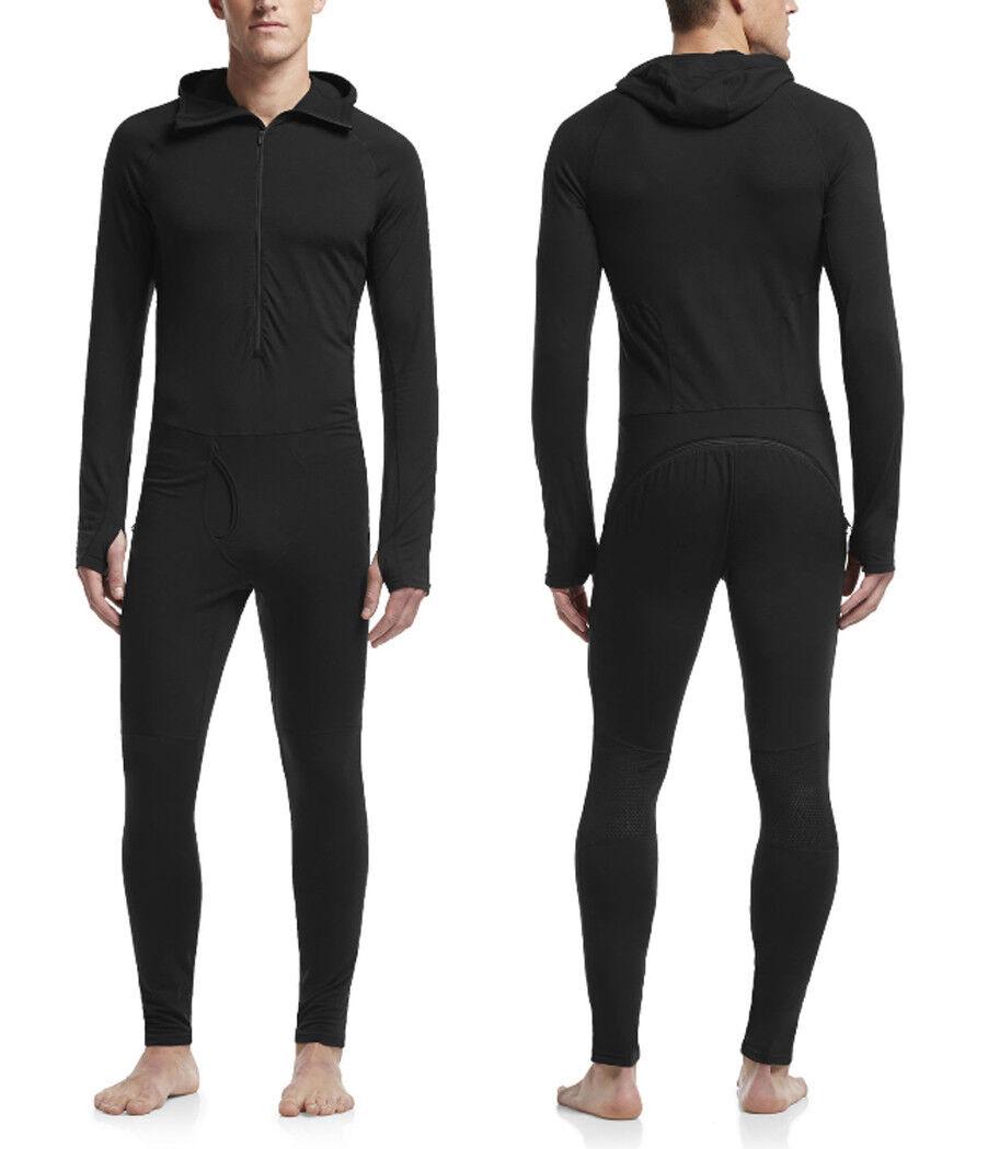 Icebreaker Men's Zone One Sheep Suit - 120-200g M ² - Versatile Onesie