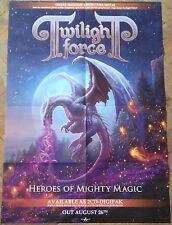 TWILIGHT FORCE POSTER ! Freedom Call/Blind Guardian/Sabaton/Running Wild/Hansen