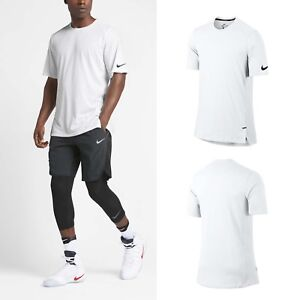 d427eea6064fd Nike Men Breathe Top Short Sleeve Elite Tee Hoops T-Shirt Basketball ...