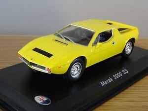 Nice 1/43 Maserati Merak 3000 SS Leo Models Bomporto Italia | eBay
