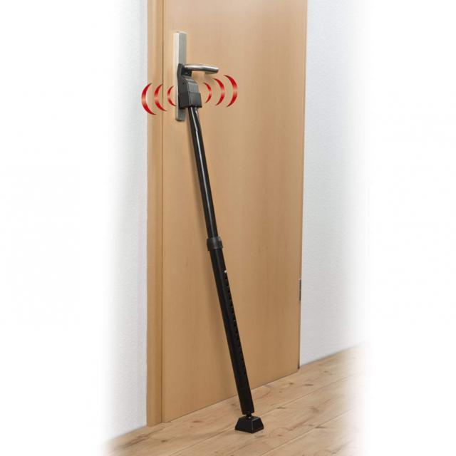 Easymaxx sécurité porte teleskop-sicherungsstange radio-pilotée capteur tactile