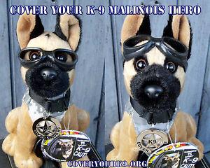 Plush-Belgian-Malinois-MWD-Police-Dog-with-Doogles-Badge-Camo-Vest-K9-Fundraiser