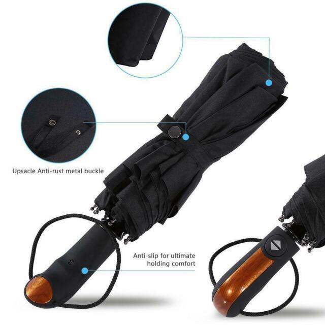 Titan Totes Automatic Auto Open Close Umbrella Max Strong L Large Compact