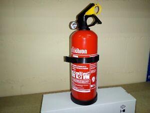 Extintor-Coche-Polvo-ABC-de-1-kg-con-soporte-de-transporte-Nuevas-unidades