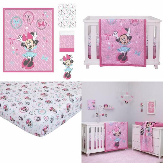 Care Bears Baby 4 Piece Crib Set Pink
