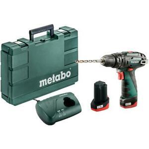 Metabo-Schlagbohrschrauber-PowerMaxx-SB-Basic-10-8V-2x-2-0Ah-Li-Ion-Akkus-Koffer