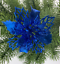 Glitter-Xmas-Hollow-Flower-Christmas-Tree-Hanging-Ornament-Party-Home-Decor thumbnail 13