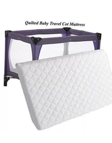 New Extra Thick Travel Cot Mattress For Grace Redkite And M/&P 95 x 65 x 7.5 cm