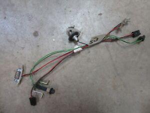 cadillac wiring parts 1964 cadillac sedan deville interior dash panel accessory lights  1964 cadillac sedan deville interior