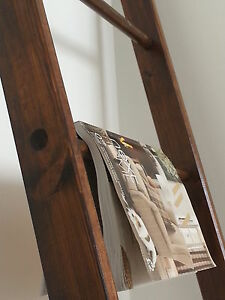 Classic-Wood-Ladder-for-a-Vintage-Look-Bathroom-Bedroom-Hand-Made