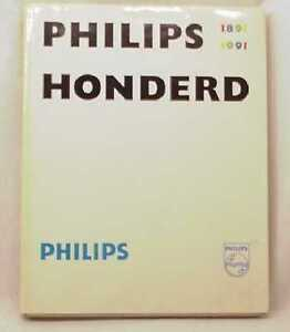 Philips-Honderd-1891-1991-Book-Turntable-HUNDRED-YEAR-ANNIVERSARY