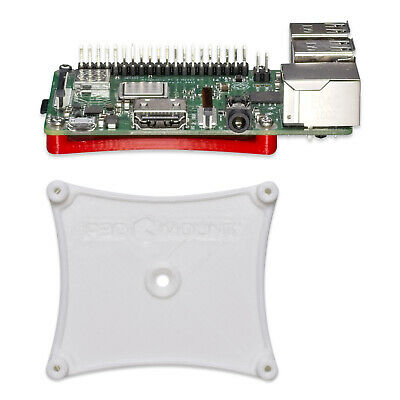 Wall Desk Mount Bracket for Raspberry Pi B B+ Series White ...
