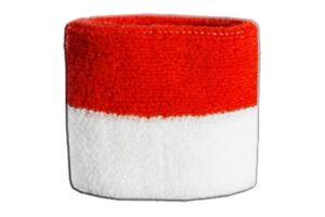Schweißband Fahne Flagge Vatikan 7x8cm Armband für Sport