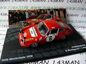 RIT40M-voiture-1-43-IXO-Altaya-Rallye-Italie-PORSCHE-911-S-Monte-carlo-1970