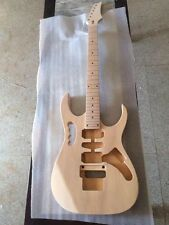 Unfinished electric guitar  Excellent handcraft one neck and one body 11224