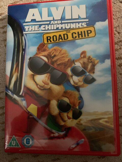 Alvin and the Chipmunks: Road Chip DVD (2016) Jason Lee, Becker (DIR) cert