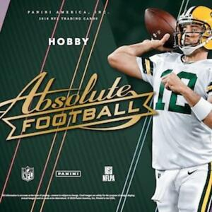 1450da73869 Image is loading 2018-Absolute-Football-Jersey-Memorabilia-Cards-Pick-From-