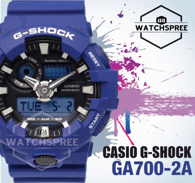 Casio G-Shock new GA-700 Analog-Digital Watch GA700-2A AU FAST & FREE*
