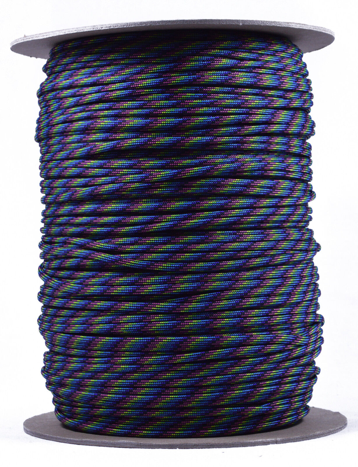 Neon Stripes - 550 Paracord Rope 7 strand Parachute Cord - 1000 Foot Spool