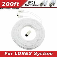 Lorex Compatible High Quality 200ft Cable For Lh1624, Lh1616, Lh150