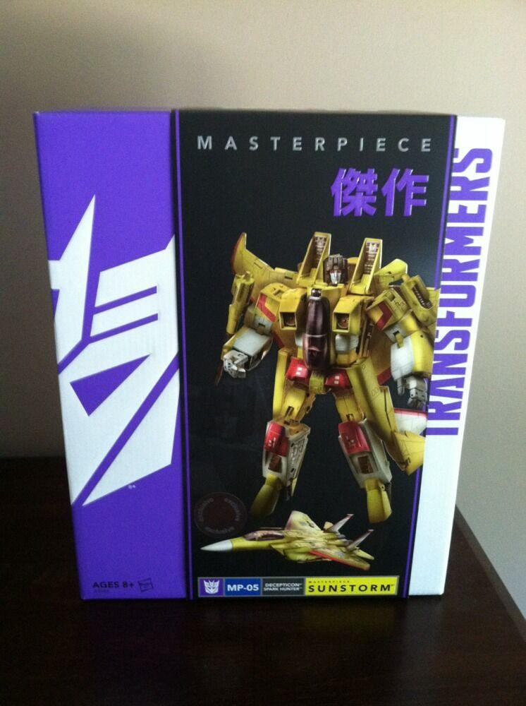 Toys R Us Con Exclusivo Hasbro Transformers Masterpiece Mp05 sunstorm7 Nuevo