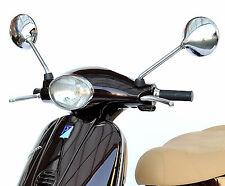 Spiegel Chrom Chromspiegel Paar Rund Retro für Vespa ET4 M19 125ccm Bj.2000-2006