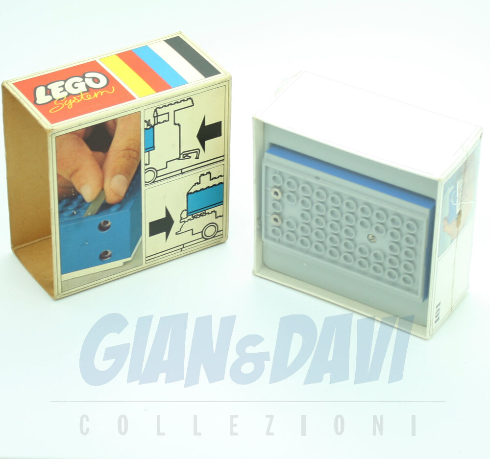 1966 Lego 101 Battery Box Blau + Box sigillato