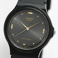 Casio MQ76-1A Mens Black Dial Resin Casual Classic Analog Watch Resin Band