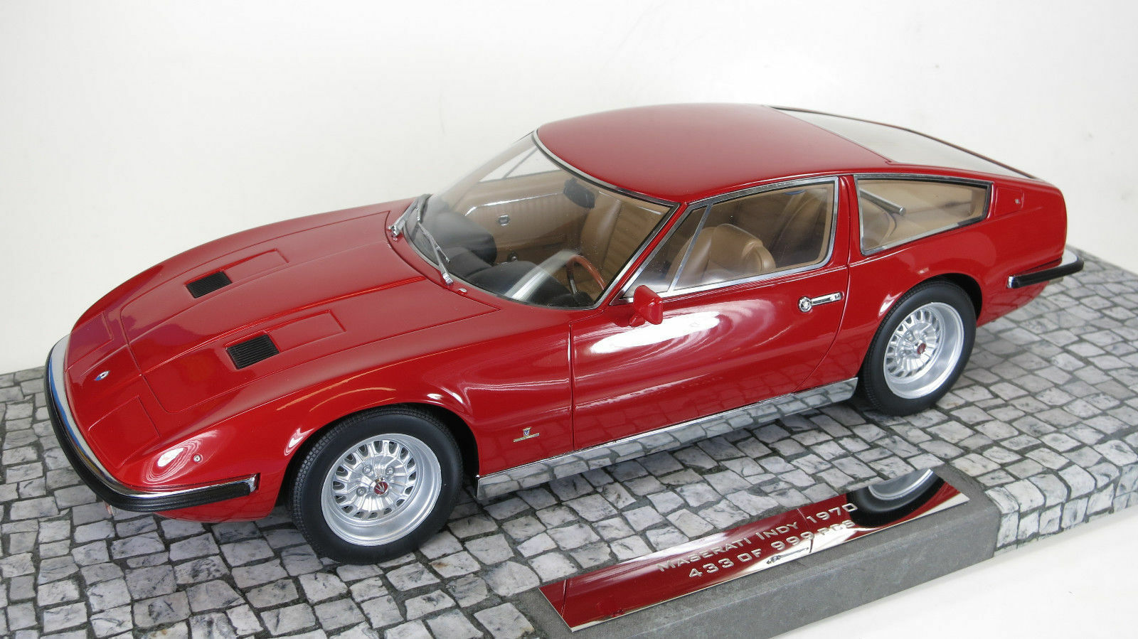 1 18 Minichamps 1970 Maserati Indy (Red) Limited Edition 1 Von 999 - Rarity