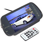 2 AV input 7 Inch TFT LCD Color Screen MP5 SD USB Car Rear View Mirror Monitor