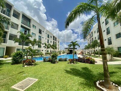 Departamento en renta en Cancún ubicado en Soho, Av Huayacan.