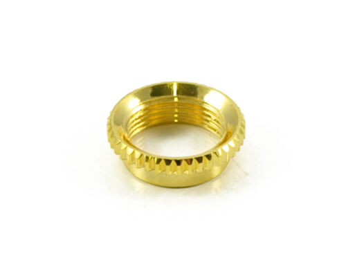 GOLD Vintage Style Deep Thread Toggle Switch Nut for Switchcraft SG Les Paul